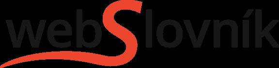 WebSlovník – prekladač slov a viet - Logo